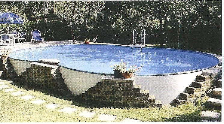 Piscine for Piscine rigide