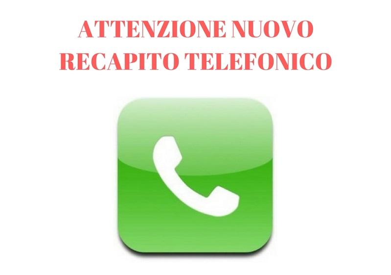 Nuovo numero telefonico - Numero di telefono piscina ortacesus ...